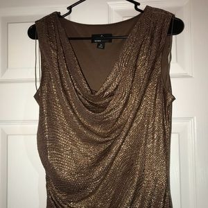 Sparkly Brown Dress